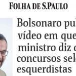 """Para Weintraub e Bolsonaro, concurso """"esquerdiza"""" o serviço público"""