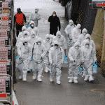 Coreia passa a alerta máximo com vírus e Itália fecha cidades