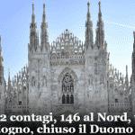 Casos de coronavírus dobram na Itália em 48 horas