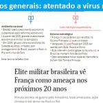 """""""Estratégias"""" militares na Folha beiram a alucinação"""