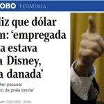 'Doméstica na Disney': o desprezo de Guedes não cabe em sua própria boca