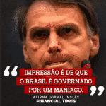 Bolsonaro é um imundo