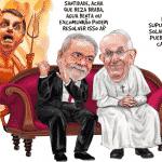 Pesquisa mostra Lula, Moro e economia como adversários de Bolsonaro-22