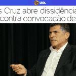 Santos Cruz mostra primeira reação militar ao 'bolsogolpismo'