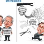 O governo corre o risco de desabar