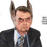 Bolsonaro finge não ver o que até os burros vêem