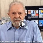 'Que o amor prevaleça sobre o ódio', diz Lula sobre a crise