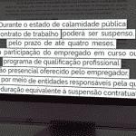 Miriam Leitão: governo ampliará mais a suspensão do contratos de trabalho