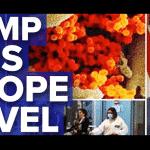Trump põe gasolina no fogo ao bloquear a Europa