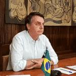 Quem está indo embora não é o vírus, é Bolsonaro