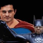 Batman, Super-Homem, Joaquim, Moro