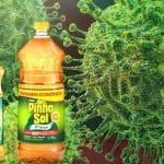 O pinho-sol da cura: Trump delira com desinfetante e luz contra vírus