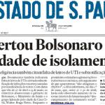 Documentos da Abin: Bolsonaro sabia que Covid ia explodir
