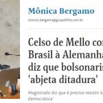 Celso de Mello rompe o 'mimimi' e abre ruptura com Bolsonaro