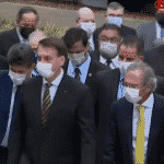 A passeata do capital, pela morte, com Bolsonaro