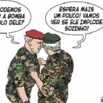 Radicalização afasta militares do golpe de Bolsonaro