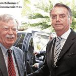 Problemas de Trump trabalham contra Bolsonaro