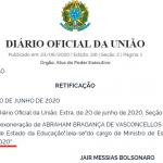 Bolsonaro põe Weintraub para dançar na chuva