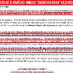 'Didi Mocó' na Saúde: coronel manda médicos receitarem cloroquina