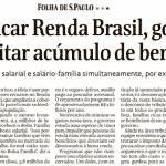 'Renda Brasil' é 'catadão' sem chances de prosperar