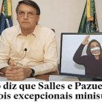 Bolsonaro chuta acordos, Mourão e generais da ativa