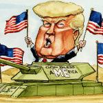 Campanha nos EUA 'esquenta' e Trump tenta evitar colapso