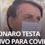 Bolsonaro deu positivo, mas é transmissor do vírus faz tempo