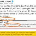 Trump e o 'Coronagate': alguém ainda liga para a verdade?