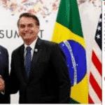 Bolsonaro usa o Brasil para arrumar votos para Trump