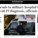 Trump é levado para centro médico. Biden retira ataques da TV