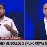 """Boulos vai bem em debate e Covas faz-se o """"tadinho de mim"""""""""""