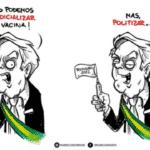 Bolsonaro pega 100% das Coronavac e agora controla toda a vacina no Brasil