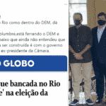 Filho de Bolsonaro ameaça Paes por eleição na Câmara