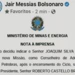 Bolsonaro quer um Pazuello na Petrobras. Terá?
