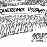 """Cristina Serra e o """"será que eles voltam?"""" dos militares"""