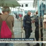 Vacinas acabam no Rio. Capital vacina a 'conta-gotas', mas vai parar