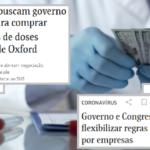 """Picaretas insistem com """"vacina privada"""". O dinheiro não tem pudor."""