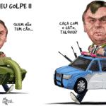 Bolsonaro chama a polícia para sua aventura