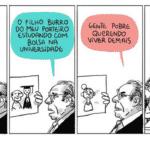 A cremação de Paulo Guedes