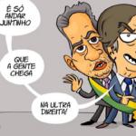 Bolsonaro não está só. Está mal-acompanhado